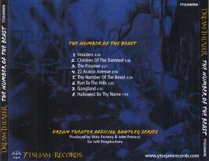 Dream Theater: The Number Of The Beast (Official Bootleg) (CD) - Bild 4