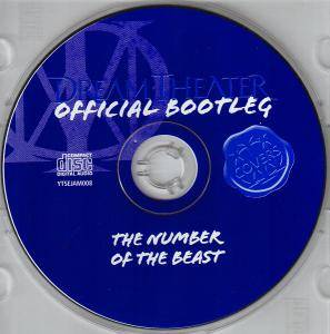 Dream Theater: The Number Of The Beast (Official Bootleg) (CD) - Bild 5