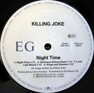 Killing Joke: Night Time (LP) - Bild 3