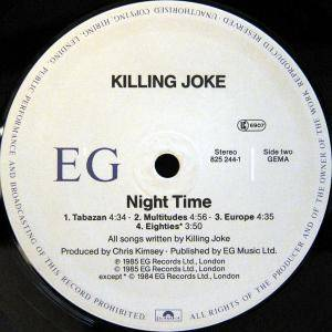 Killing Joke: Night Time (LP) - Bild 4