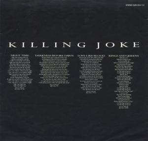 Killing Joke: Night Time (LP) - Bild 6