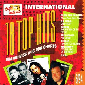 Cover - Corona: 18 Top Hits Aus Den Charts - 6/94