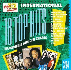 18 Top Hits Aus Den Charts - 3/94 - Cover