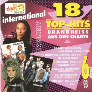 Cover - 2 Unlimited: 18 Top Hits Aus Den Charts - 6/93