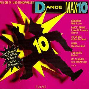 Cover - Co.Ro. Feat. Taleesa: Dance Max 10
