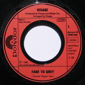 "Visage: Fade To Grey (7"") - Bild 3"