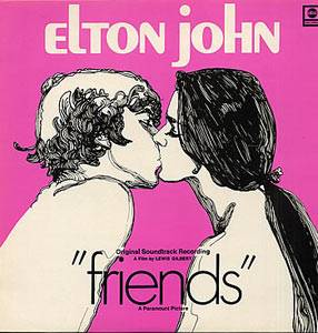 Elton John: Friends - Cover