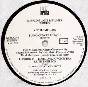 Emerson, Lake & Palmer: Works Volume 1 (2-LP) - Bild 7
