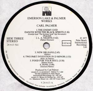 Emerson, Lake & Palmer: Works Volume 1 (2-LP) - Bild 9