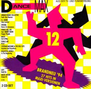 Dance Max 12 - Cover