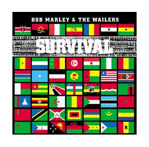 Bob Marley & The Wailers: Survival - Cover
