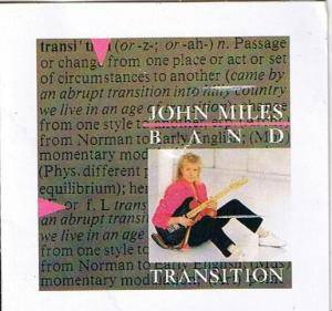 Cover - John Miles: Transition