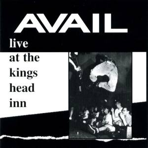 Cover - Avail: Live At The Kings Head Inn