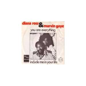 Cover - Diana Ross & Marvin Gaye: You Are Everything / Include Me In Your Life