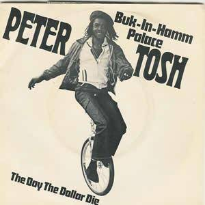 Peter Tosh: Buk-In-Hamm Palace - Cover