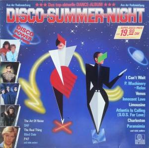 Cover - Art Of Noise With Max Headroom, The: Disco-Summer-Night
