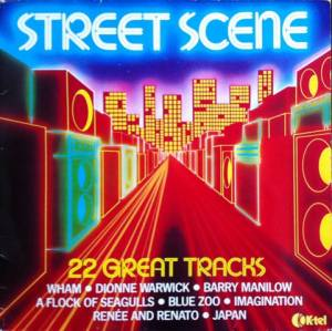Cover - Pinkees, The: Street Scene