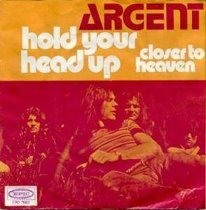 Argent: Hold Your Head Up - Cover