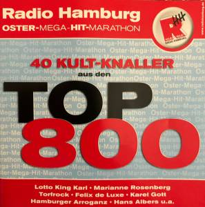 40 Kult-Knaller Aus Den Top 800 - Cover