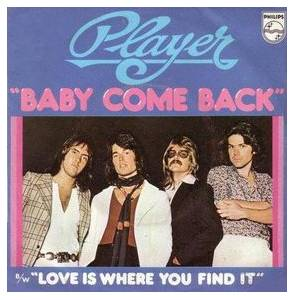 Player: Baby Come Back - Cover