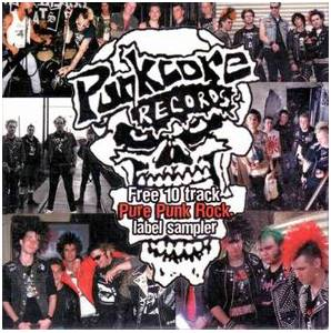 Punkcore Records Pure Punk Rock Sampler - Cover