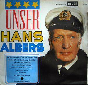 Hans Albers: Unser Hans Albers - Cover