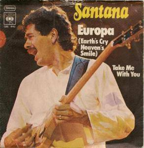 Santana: Europa (Earth's Cry Heaven's Smile) - Cover