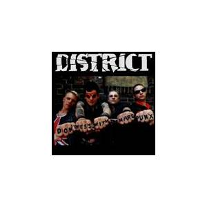 Cover - District: Don't Mess With The Hard Punx
