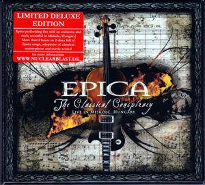 Epica: Classical Conspiracy, The - Cover