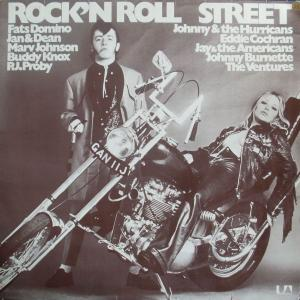 Cover - Various Artists/Sampler: Rock'n Roll Street