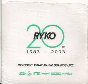 Cover - Toumani Diabaté: Rykodisc. What Music Sounds Like. / RYKO 20 1983 - 2003