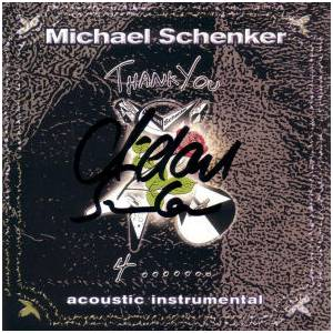 Cover - Michael Schenker: Thank You 4 ...