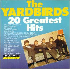 The Yardbirds: 20 Greatest Hits - Cover
