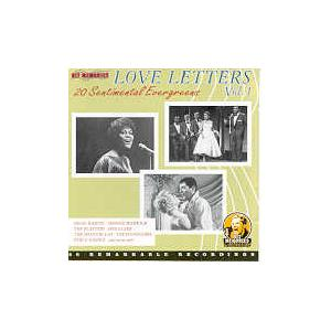 Love Letters Vol. 1 - 20 Sentimental Evergreens - Cover