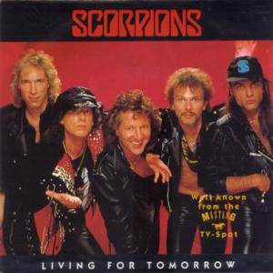 Scorpions: Living For Tomorrow - Cover
