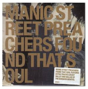 Manic Street Preachers: Found That Soul - Cover