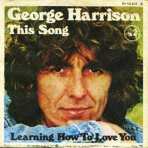 George Harrison: This Song - Cover