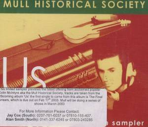 Cover - Mull Historical Society: Us
