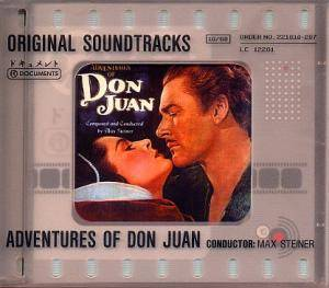 Cover - Max Steiner: Adventures Of Don Juan