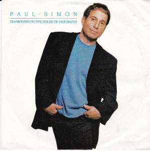 Paul Simon: Diamonds On The Soles Of Her Shoes - Cover