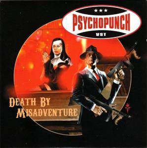 Psychopunch: Death By Misadventure - Cover
