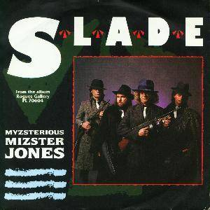 Slade: Myzsterious Mizster Jones - Cover