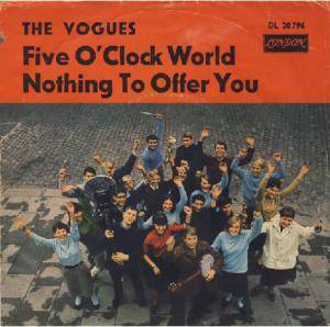 Cover - Vogues, The: Five O'Clock World