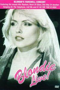 Blondie: Blondie Live! - Cover