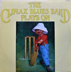 Climax Blues Band: Plays On - Cover