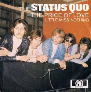 Status Quo: Price Of Love, The - Cover