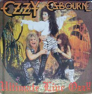Ozzy Osbourne: Ultimate Live Ozzy - Cover