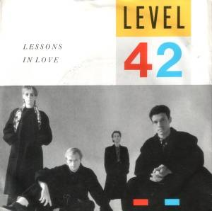 Level 42: Lessons In Love - Cover
