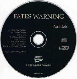 Fates Warning: Parallels (CD) - Bild 3