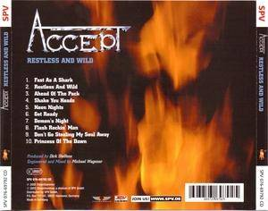 Accept: Restless And Wild (CD) - Bild 3